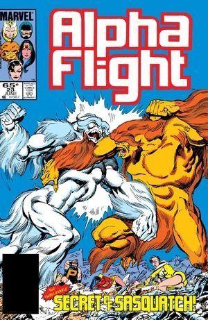 ALPHA FLIGHT (1983 1ST SERIES) #23