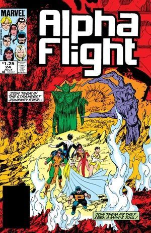 ALPHA FLIGHT (1983 1ST SERIES) #24
