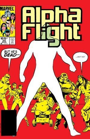 ALPHA FLIGHT (1983 1ST SERIES) #25