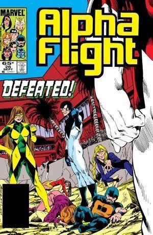 ALPHA FLIGHT (1983 1ST SERIES) #26