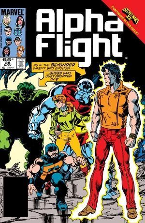 ALPHA FLIGHT (1983 1ST SERIES) #28