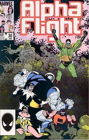 ALPHA FLIGHT (1983 1ST SERIES) #30