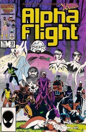 ALPHA FLIGHT (1983 1ST SERIES) #33