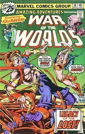 AMAZING ADVENTURES (1970 2ND SERIES) #36