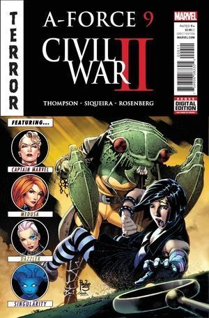 A-FORCE (2016 2ND SERIES) #9