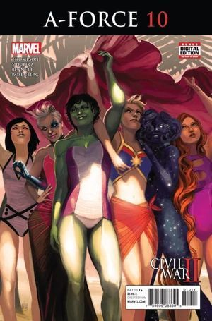 A-FORCE (2016 2ND SERIES) #10