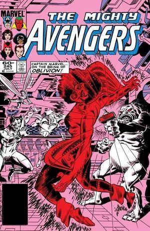 AVENGERS (1963 1ST SERIES) #245