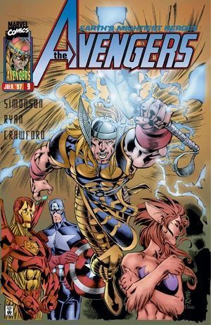 AVENGERS (1996 2ND SERIES) #9