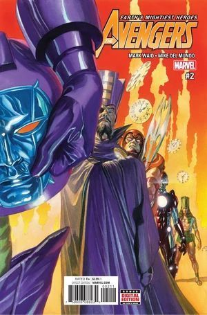 AVENGERS (2016 6TH SERIES) #2