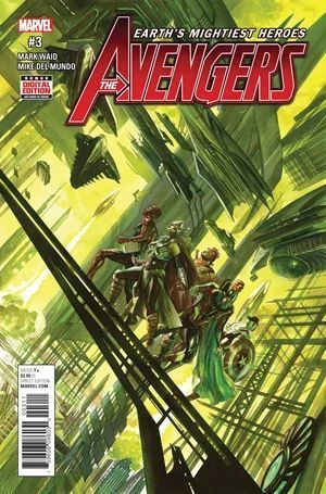 AVENGERS (2016 6TH SERIES) #3
