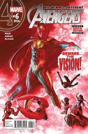 ALL NEW ALL DIFFERENT AVENGERS (2015) #6