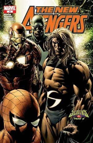 NEW AVENGERS (2005 1ST SERIES) #8