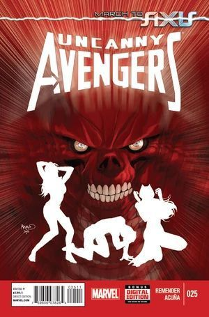 UNCANNY AVENGERS (2012 MARVEL NOW) #25