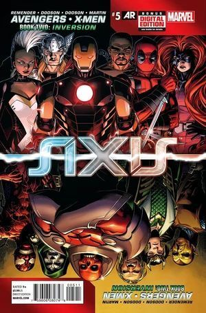 AVENGERS AND X-MEN AXIS (2014) #5