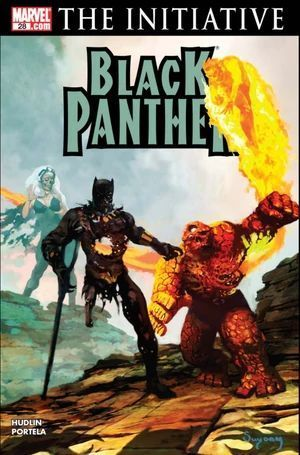 BLACK PANTHER (2005 3RD SERIES) #28