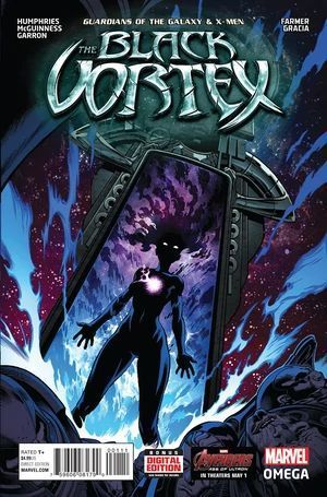 GUARDIANS OF THE GALAXY AND X-MEN BLACK VORTEX OME #1