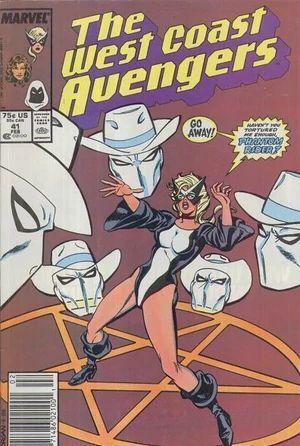 AVENGERS WEST COAST (1985) #41