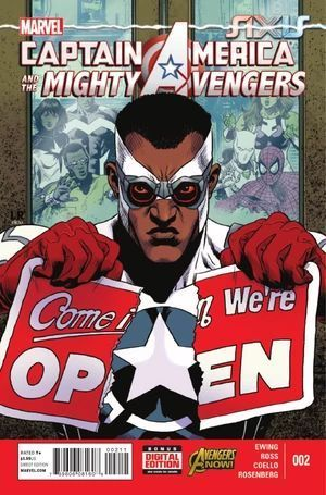 CAPTAIN AMERICA AND THE MIGHTY AVENGERS (2014)