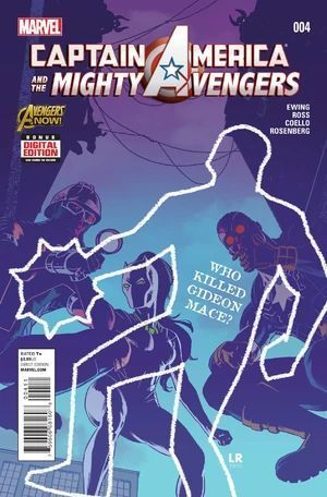 CAPTAIN AMERICA AND THE MIGHTY AVENGERS (2014) #4