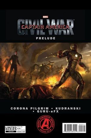 MARVELS CAPTAIN AMERICA CIVIL WAR PRELUDE (2015) #2