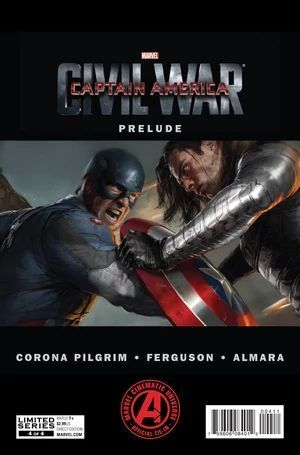 MARVELS CAPTAIN AMERICA CIVIL WAR PRELUDE (2015) #4