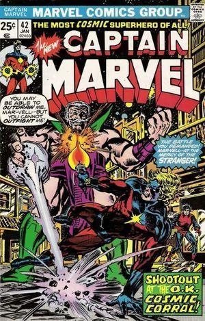 CAPTAIN MARVEL (1968 1ST SERIES) #42