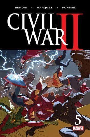 CIVIL WAR II (2016 MARVEL) #5