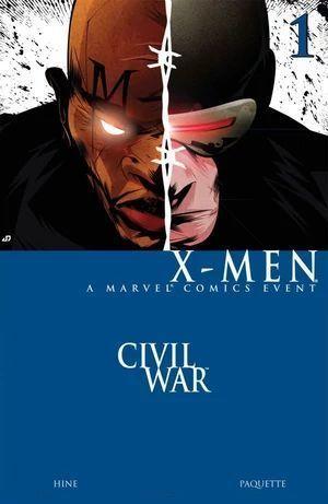 CIVIL WAR X-MEN (2006) #1
