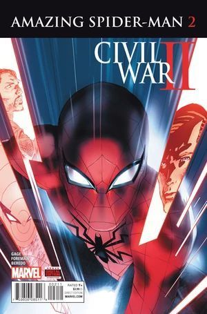 CIVIL WAR II AMAZING SPIDER-MAN (2016) #2