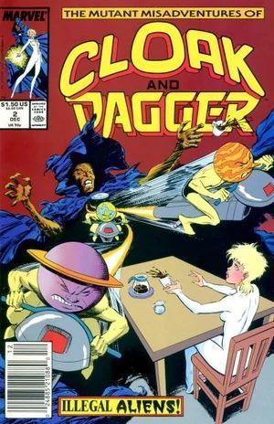 CLOAK AND DAGGER (1988 3RD SERIES) #2