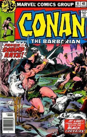 CONAN THE BARBARIAN (1970) #91