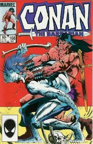 CONAN THE BARBARIAN (1970) #168