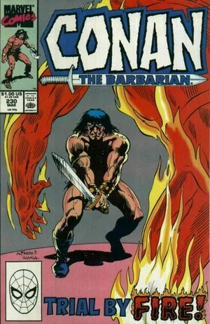 CONAN THE BARBARIAN (1970) #230