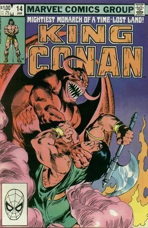 CONAN THE KING (1980) #14