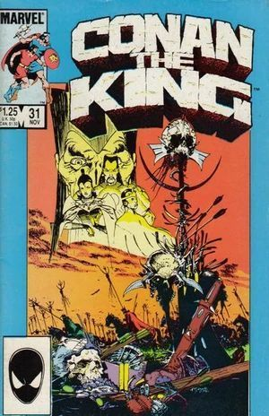 CONAN THE KING (1980) #31