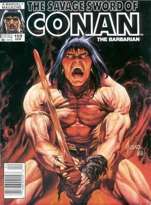 SAVAGE SWORD OF CONAN (1974) #159