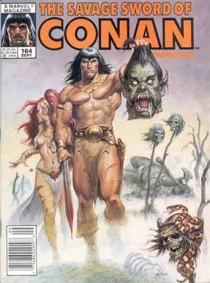 SAVAGE SWORD OF CONAN (1974) #164