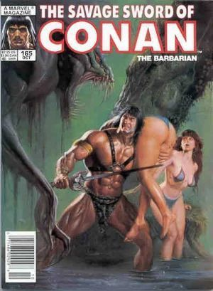SAVAGE SWORD OF CONAN (1974) #165
