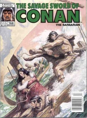 SAVAGE SWORD OF CONAN (1974) #168