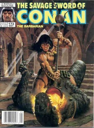 SAVAGE SWORD OF CONAN (1974) #173