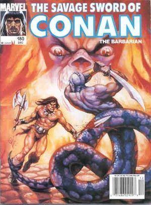 SAVAGE SWORD OF CONAN (1974) #180