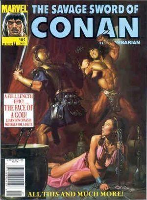 SAVAGE SWORD OF CONAN (1974) #181