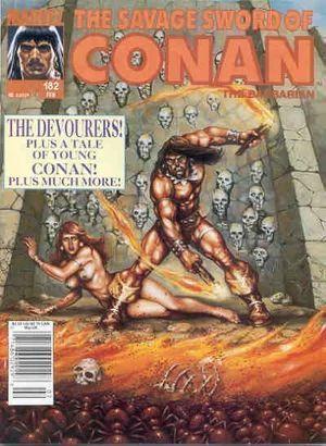 SAVAGE SWORD OF CONAN (1974) #182