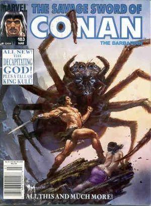 SAVAGE SWORD OF CONAN (1974) #183