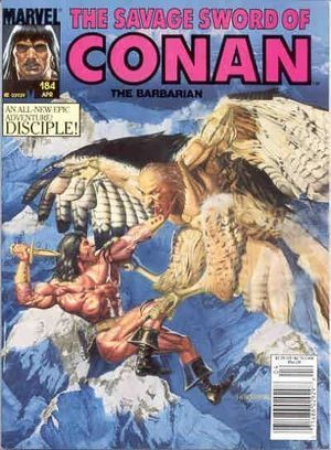 SAVAGE SWORD OF CONAN (1974) #184