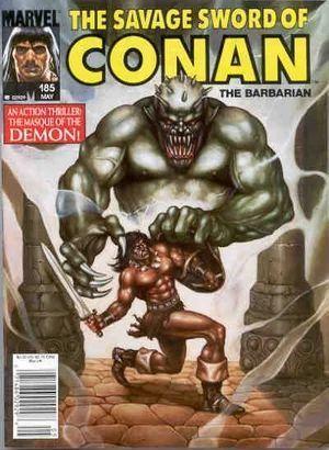 SAVAGE SWORD OF CONAN (1974) #185