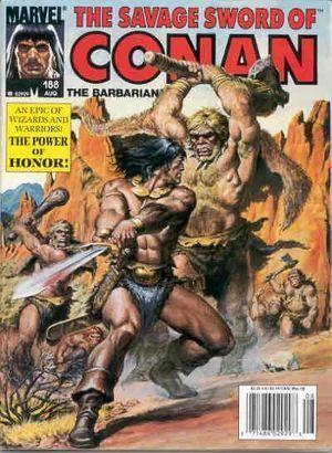 SAVAGE SWORD OF CONAN (1974) #188