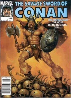 SAVAGE SWORD OF CONAN (1974) #189