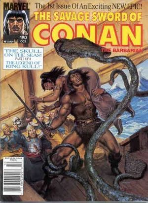 SAVAGE SWORD OF CONAN (1974) #190