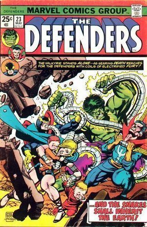 DEFENDERS (1972 1ST SERIES) #23